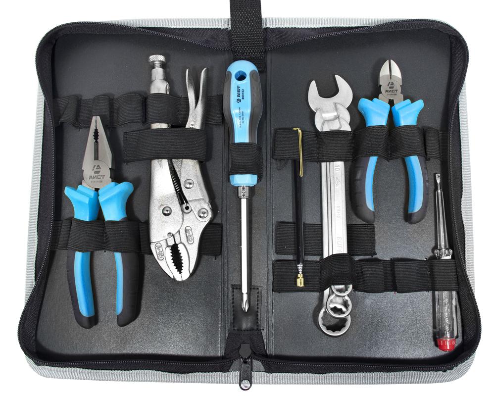 Набор инструментов в пенале, 9 предметов Aist 700309