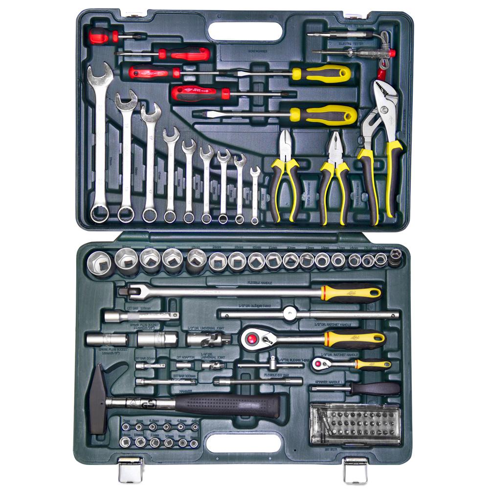 Набор инструментов в чемодане, 97 предметов Aist 408197 набор инструментов в чемодане 94 предмета aist 409194w