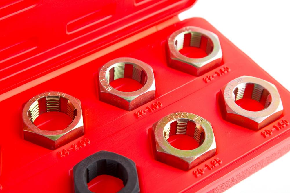 Набор инструментов для восстановления внешней резьбы, 8 предметов Aist 79320508 от 220 Вольт