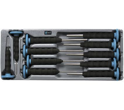 Набор ударно-режущих инструментов в ложементе, 11 предметов AIST 0-700211