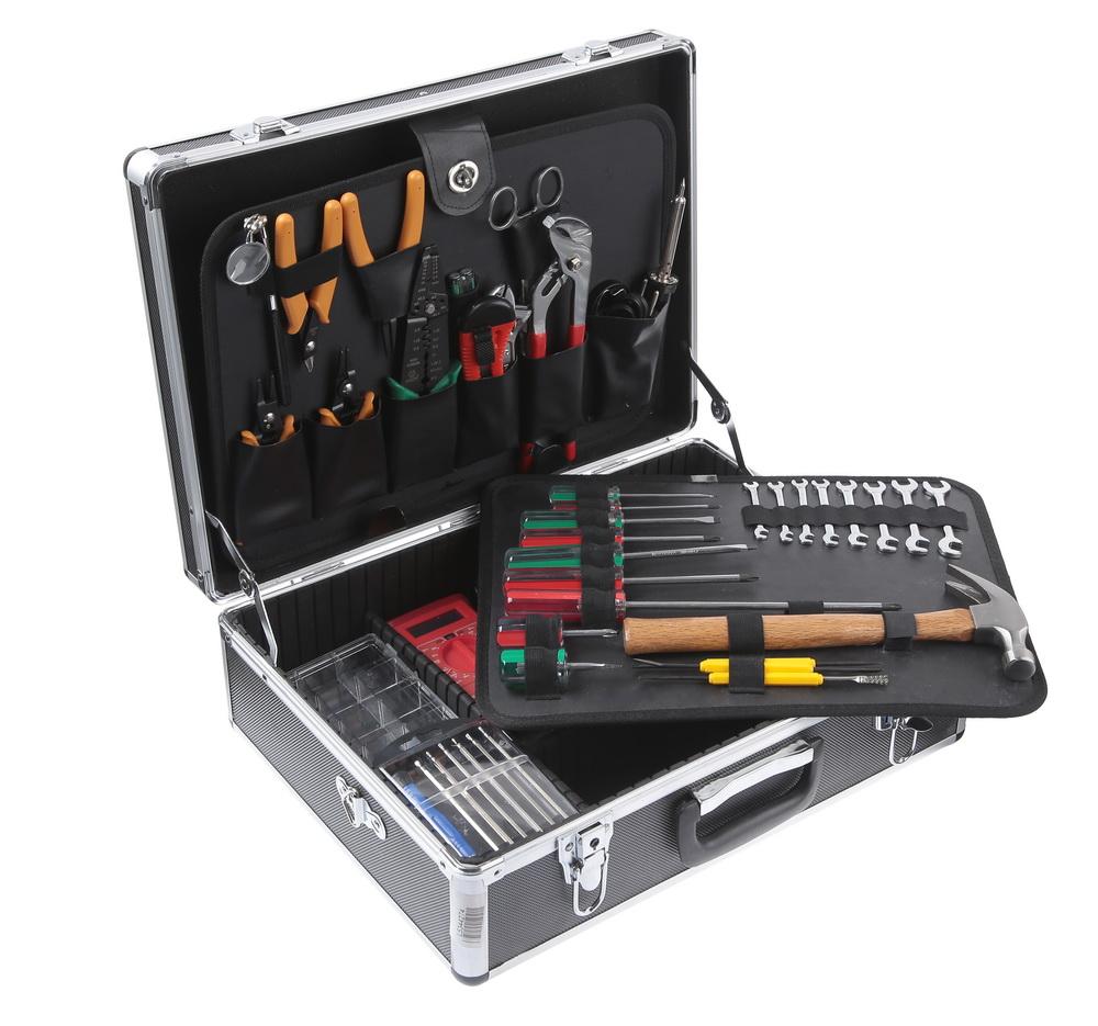 Набор инструментов в чемодане, 49 предметов Aist 703035-m набор инструментов в чемодане 94 предмета aist 409194w