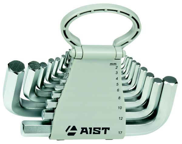 Набор шестигранных ключей, 18 шт. Aist 1054118h