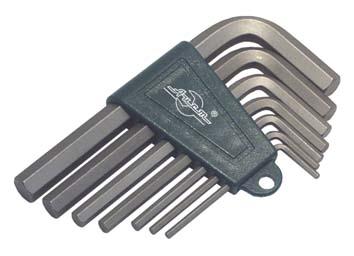 Набор Г-образных шестигранных ключей, 7 шт. Aist 1054107h набор г образных ключей torx 9 шт aist 1054309t 1