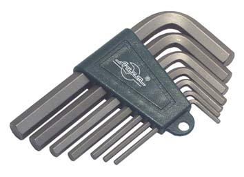 Набор Г-образных шестигранных ключей, 7 шт. Aist 1054107hws набор г образных ключей hazet 2105lg 9h