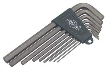 Набор Г-образных шестигранных ключей, 9 шт. Aist 1054209h набор г образных ключей torx 9 шт aist 1054309t 1