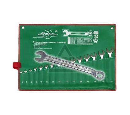 Набор комбинированных гаечных ключей, 15 шт. AIST 0010815A (6 - 22 мм)