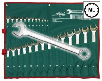 Набор комбинированных гаечных ключей Aist 0011326a (6 - 32 мм) набор комбинированных гаечных ключей 26 шт jonnesway w26126s 6 32 мм