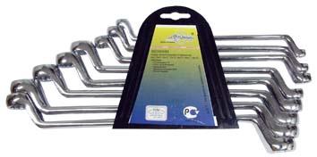 Набор накидных ключей, 8 шт. Aist 0020908b1-m (6 - 22 мм)