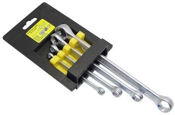 Набор накидных ключей torx, 4 шт. Aist 0020804a (6 - 24 мм) щупы aist 19211120