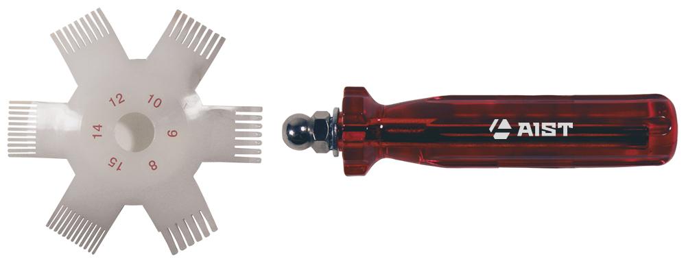 Приспособление для правки радиатора Aist 67960110 приспособление для центровки полумуфт