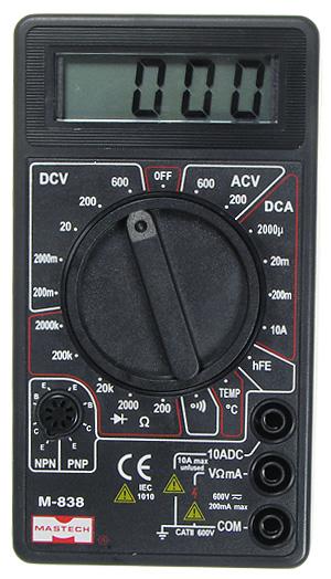 Цифровые мультиметры серии M832 предназначены для использования в лабораториях, цехах, для радиолюбительства и для...