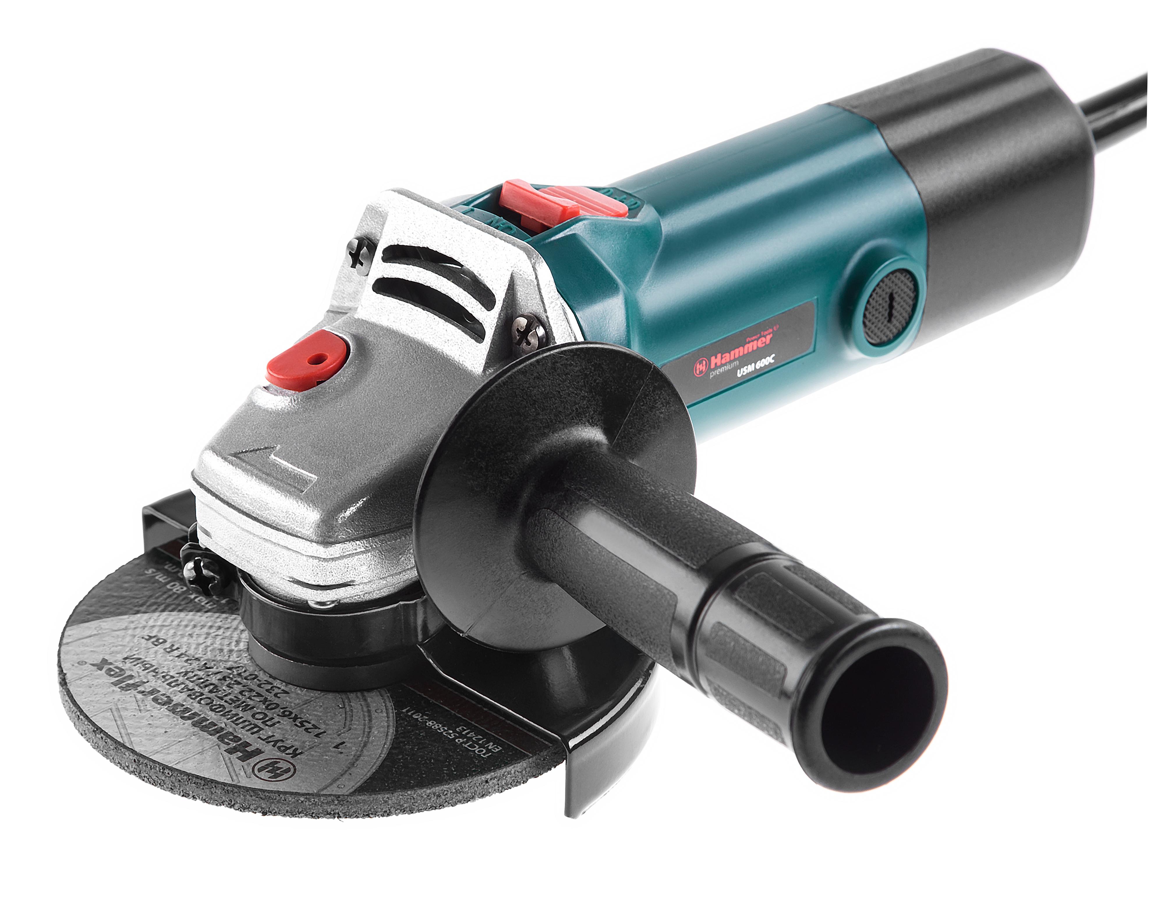УШМ (болгарка) Hammer Usm600c premium