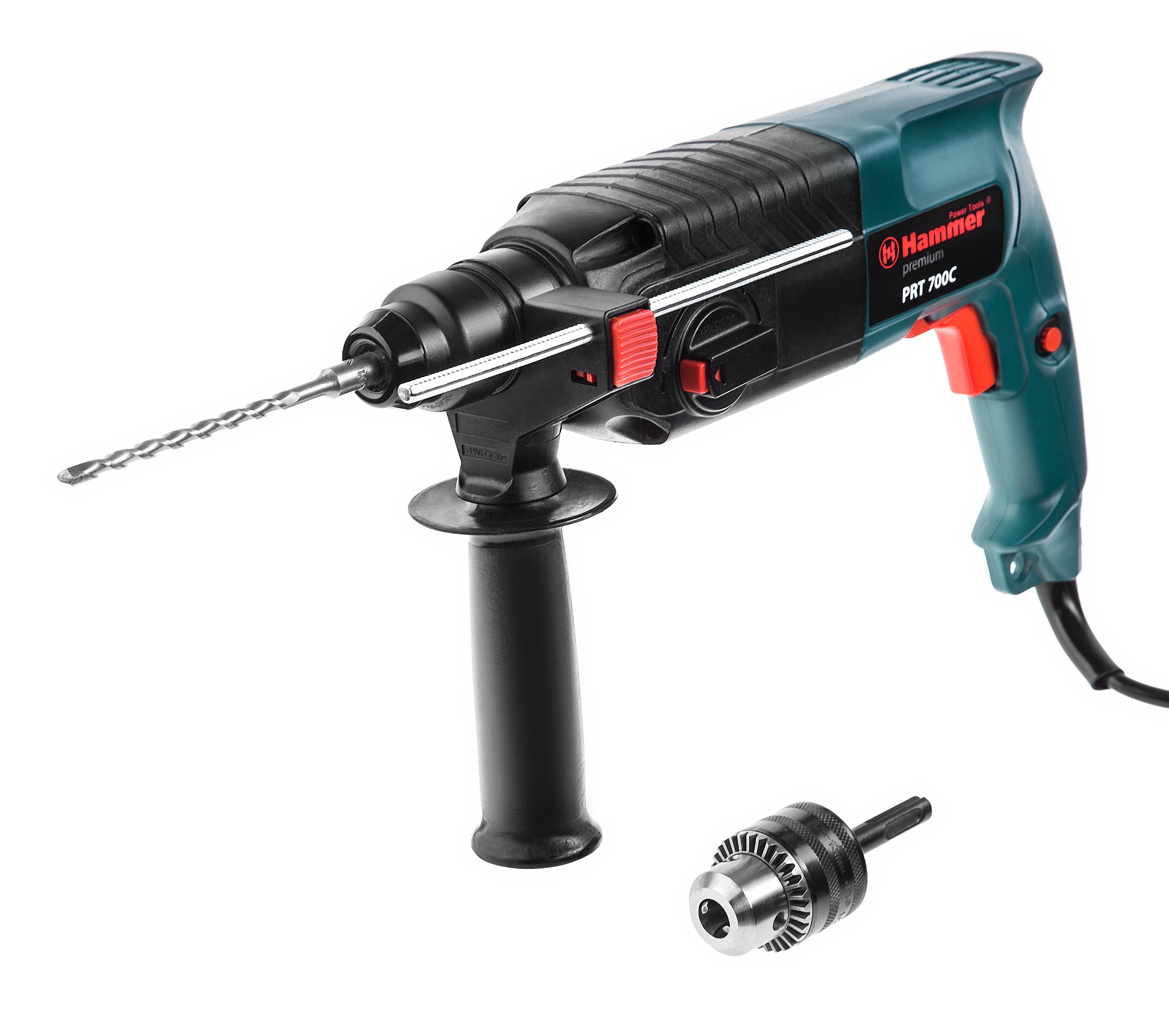 Перфоратор Hammer Prt700c premium перфоратор hammer flex prt 620 le