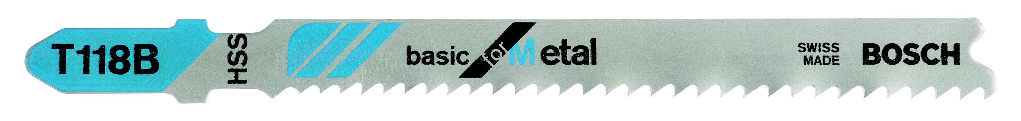 Пилки для лобзика Bosch T118b (2.608.631.014) пилки для лобзика makita b 18 t119bo