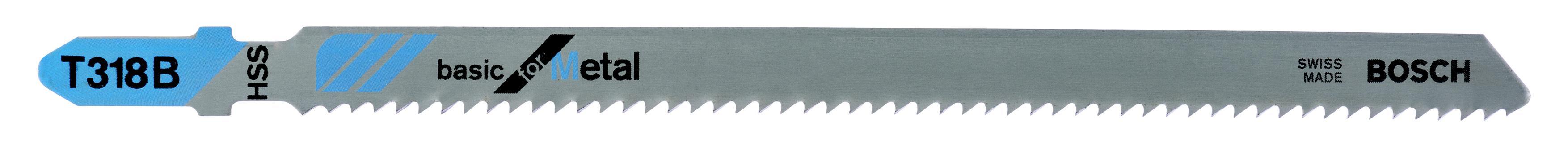 Купить Пилки для лобзика Bosch T318b (2.608.631.404), Швейцария