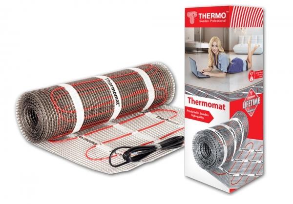 Теплый пол Thermo Tvk-130 1560Вт панели мдф влагостойкие есть с рисунком под кафельную плитку
