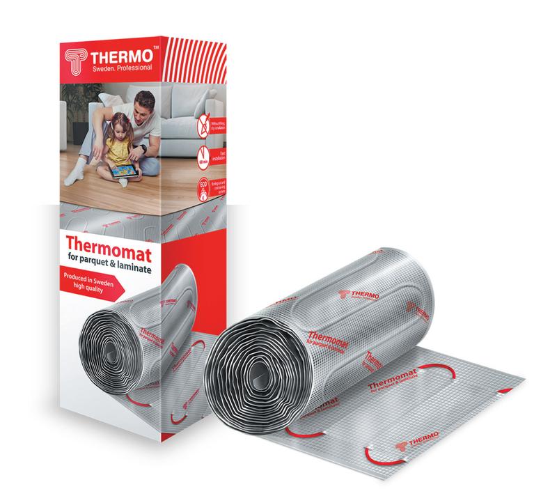 Теплый пол Thermo Tvk-130 lp 260Вт стелем пол сами ламинат линолеум плитка сd с видеокурсом