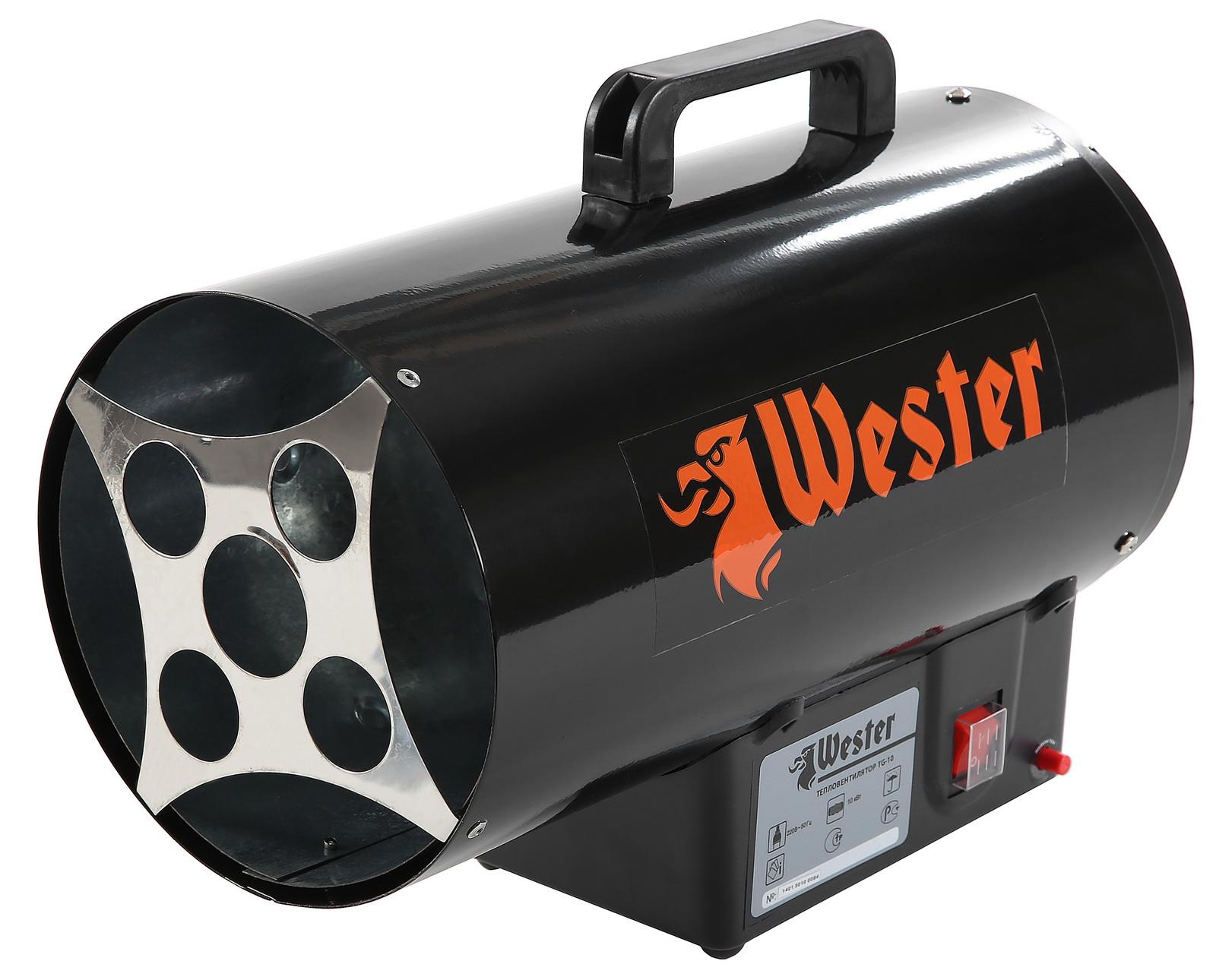 все цены на Тепловая пушка Wester Tg-10 онлайн