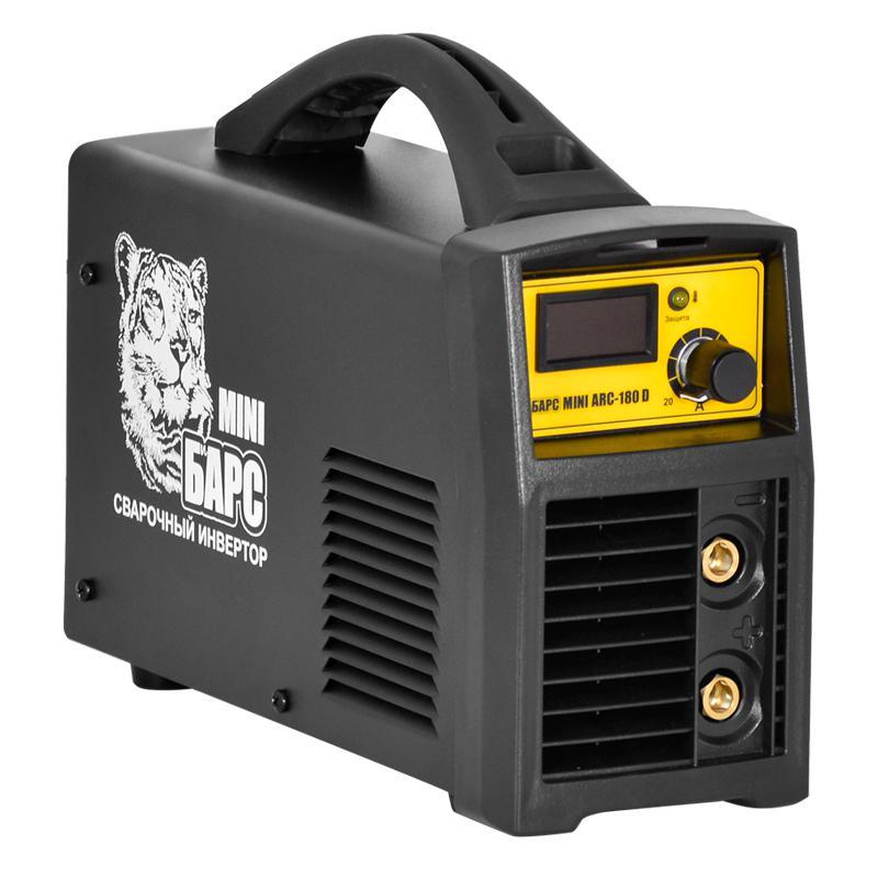 Сварочный аппарат БАРС Mini arc-180 d инвертор барс profi arc 317 d 380в св000006798