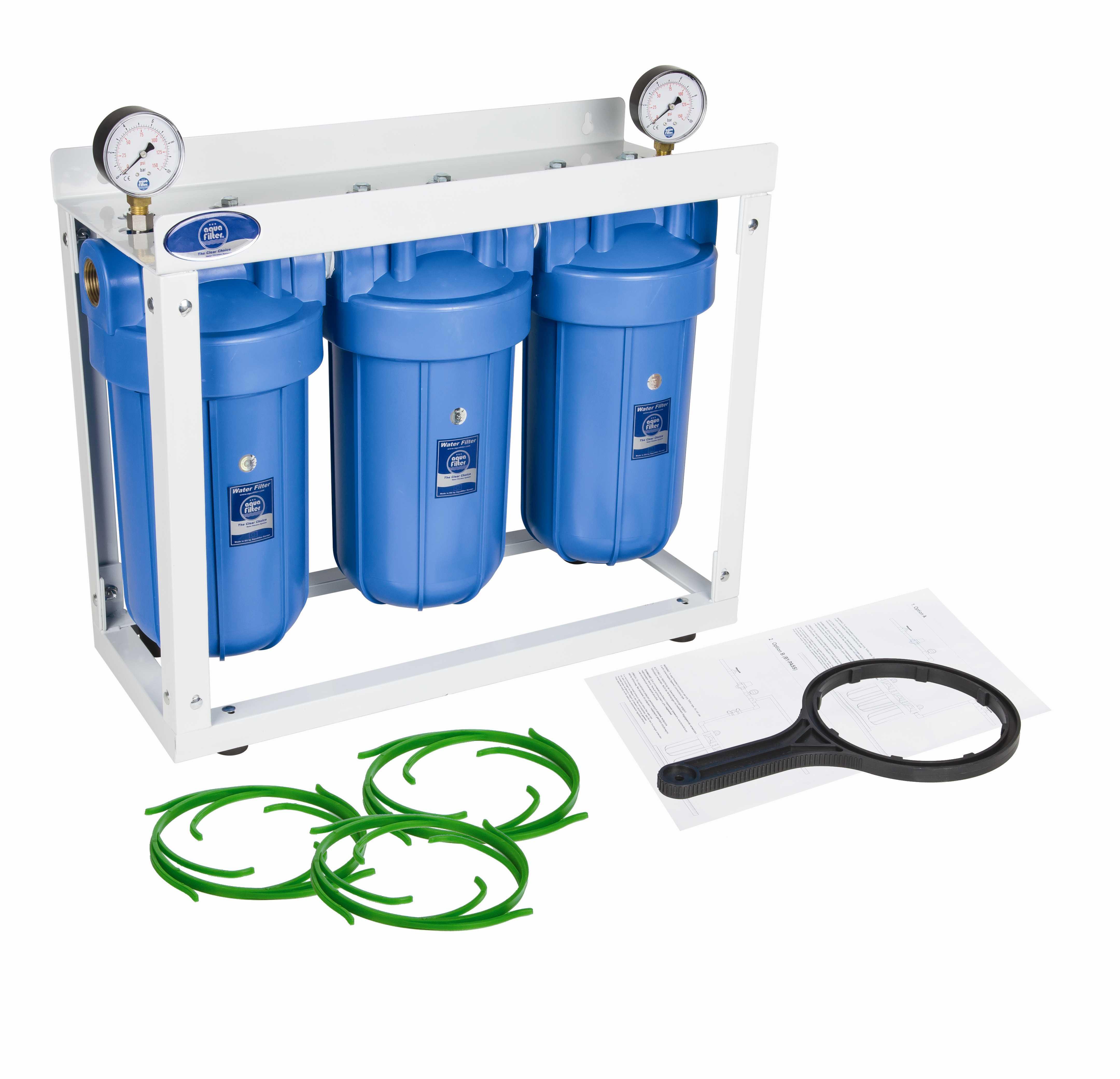 Фильтр магистральный для воды Aquafilter Hhbb10b фильтр для воды aquafilter rx5411411x fro5ma