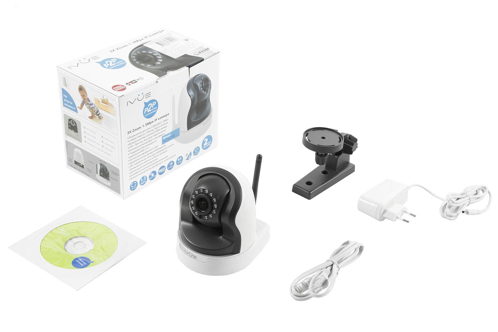 Камера видеонаблюдения Ivue Iv2503pz от 220 Вольт