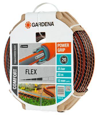 Шланг Gardena Flex 18033 длина 20м диаметр 13мм (1/2'') 22бар (18033-20.000.00)