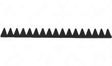 Нож Al-ko для газонокосилки бензо al-ko bm 870 iii(НИЖНИЙ) цена