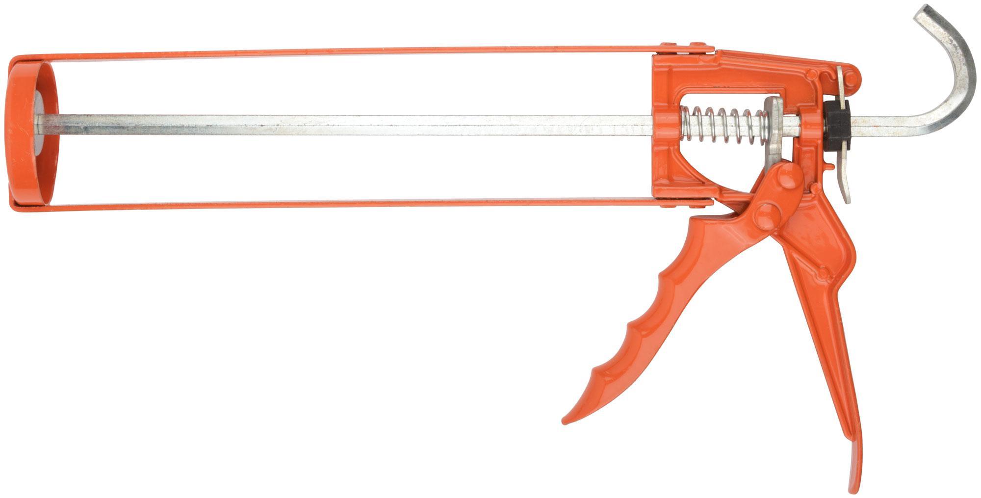 Пистолет для герметика скелетный Fit 14226 пистолет для герметика sparta 886475