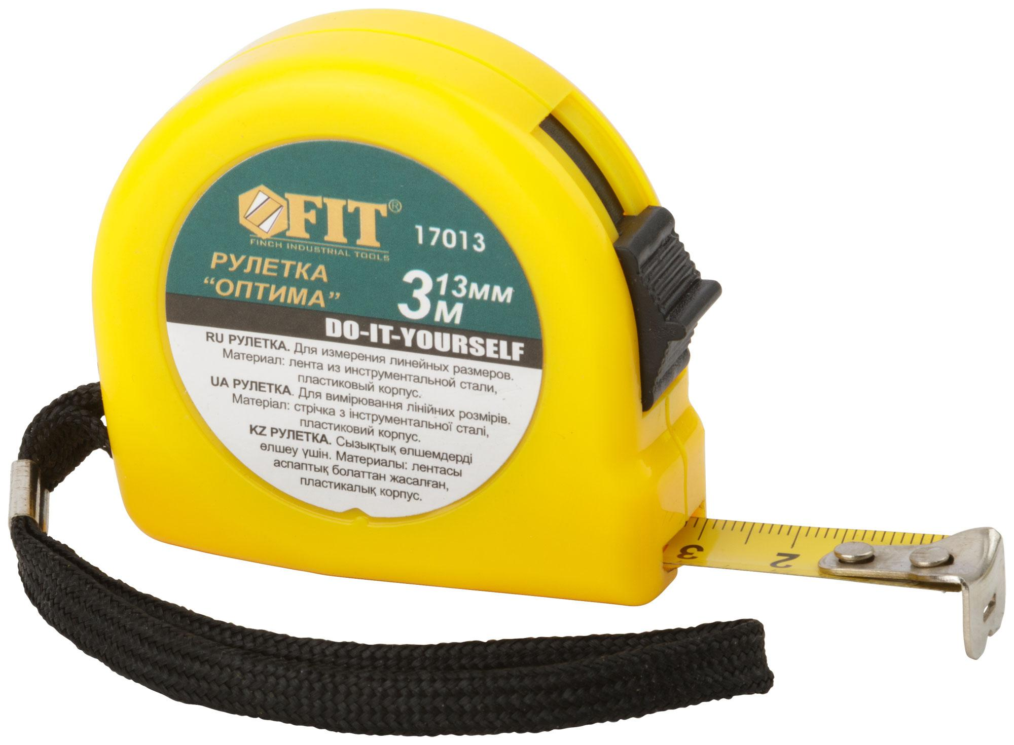 Рулетка Fit 17013