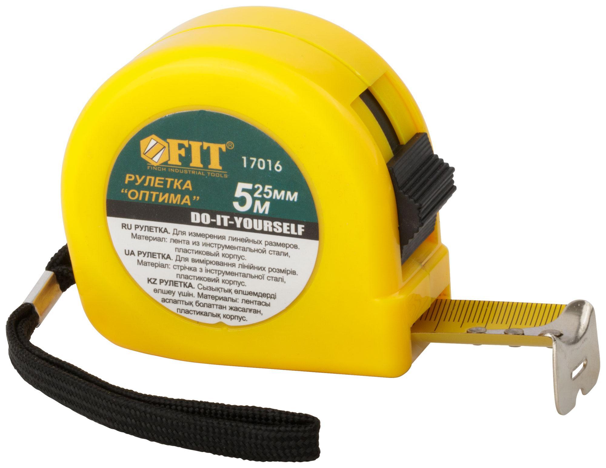 Рулетка Fit 17016