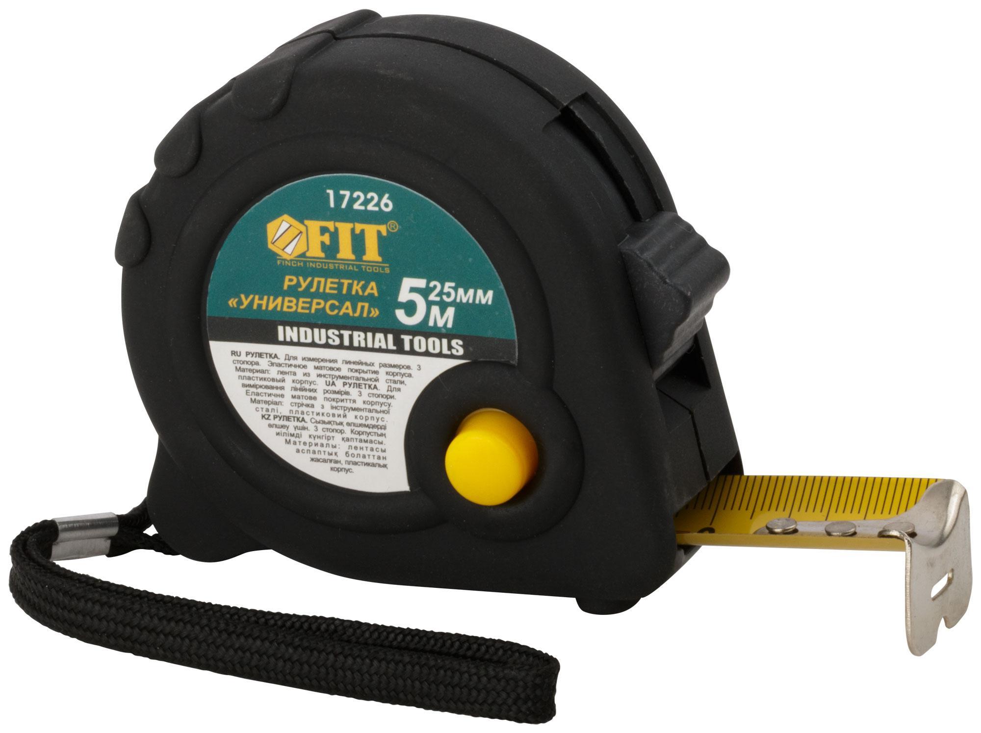 Рулетка Fit 17226 рулетка fit 17602