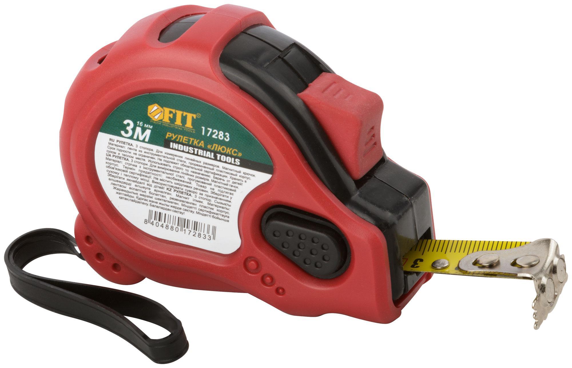 Рулетка Fit 17283