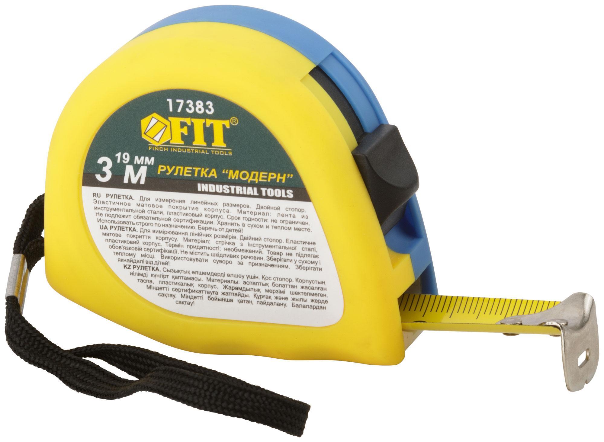 Рулетка Fit 17383
