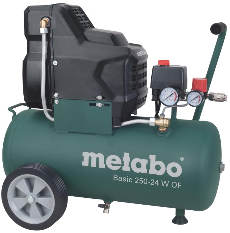 Компрессор поршневой Metabo Basic250-24wof (601532000) компрессор metabo power 250 10 w of 601544000