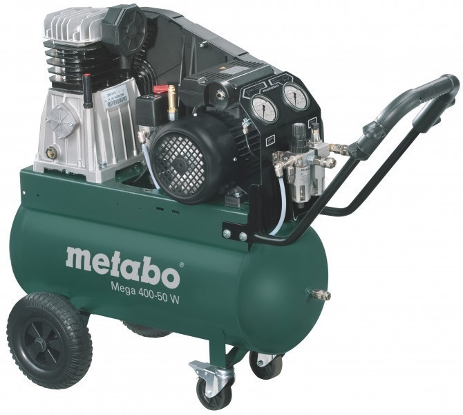 Компрессор поршневой Metabo Mega 400-50 w (601536000)