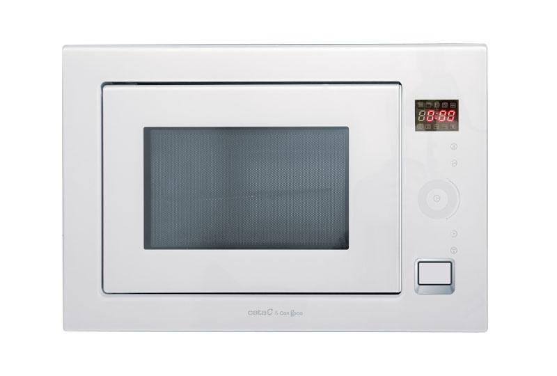 Микроволновая печь Cata Mc 25 gtc wh встраиваемая вытяжка cata g 45 wh c