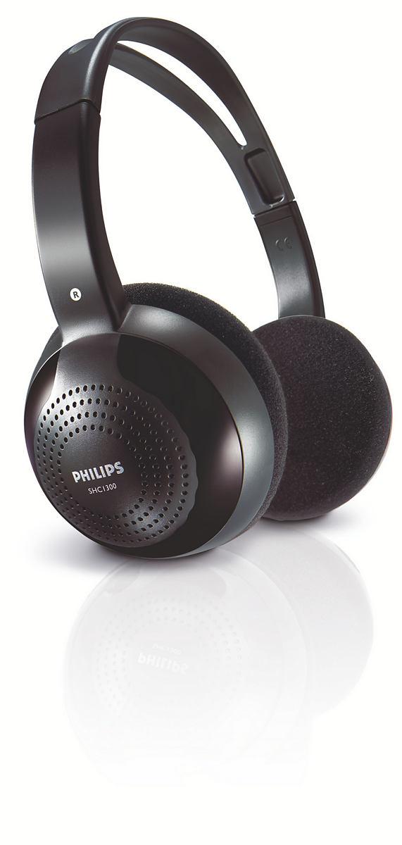 Наушники беспроводные Philips Shc1300/10 philips shc1300