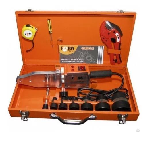 Аппарат для сварки пластиковых труб Fora инструмент Professional 1600 куплю аппарат для изготовления пончиков