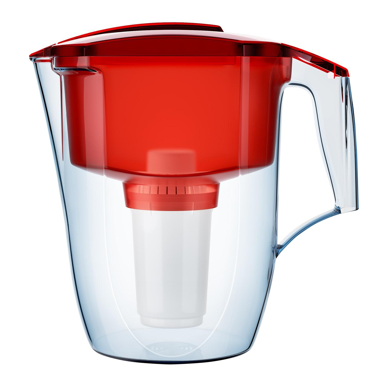 Фильтр-кувшин АКВАФОР Гарри  красный фильтр для воды аквафор кувшин престиж красный