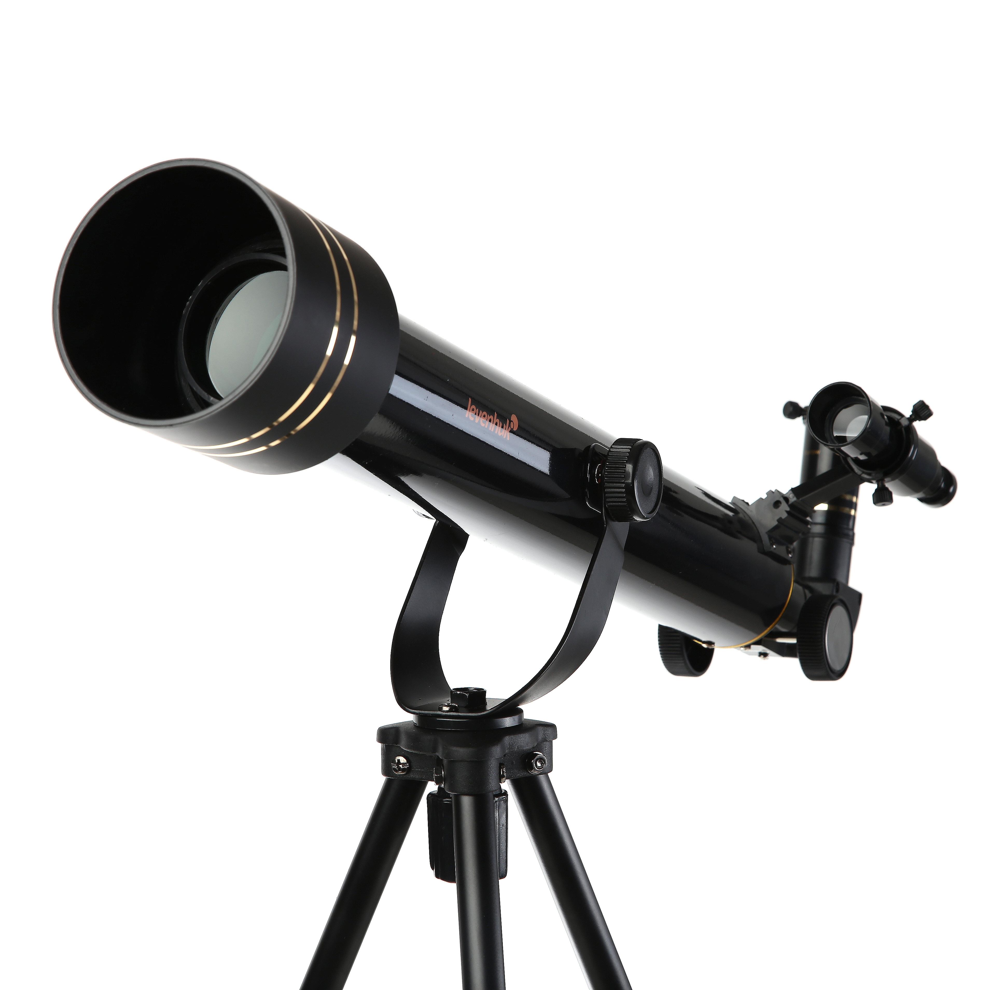Телескоп Levenhuk Strike 50 ng (ru) набор готовых микропрепаратов levenhuk левенгук n10 ng