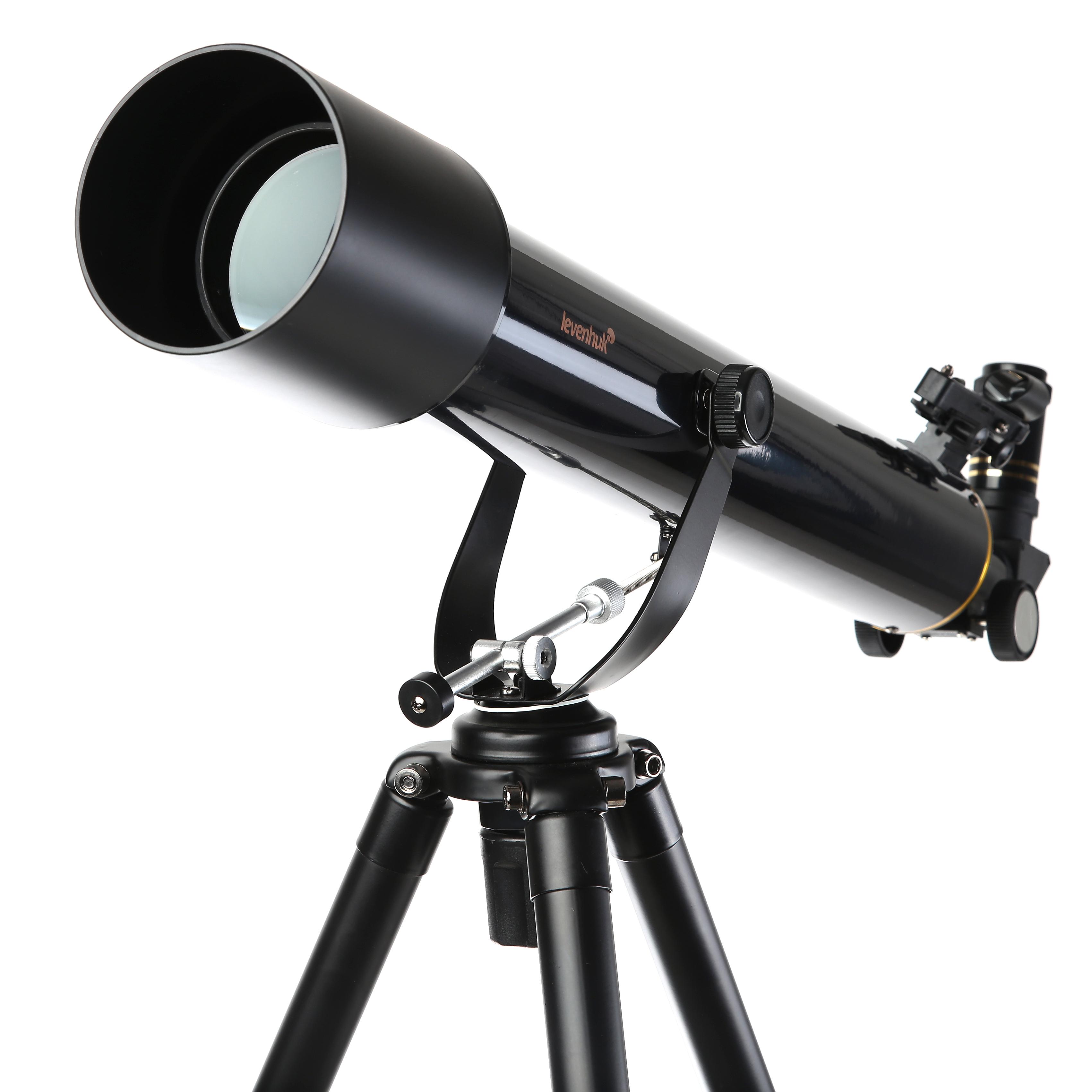 Телескоп Levenhuk Strike 80 ng (ru) набор готовых микропрепаратов levenhuk левенгук n10 ng