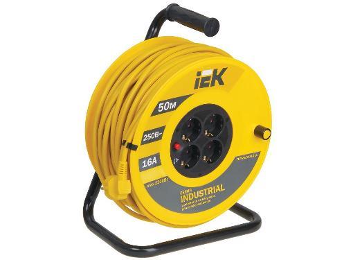 Удлинитель IEK УК50 Industrial ПВС 3х1.5