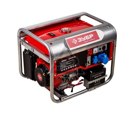 Бензиновый генератор ЗУБР ЗЭСБ-4500-Э
