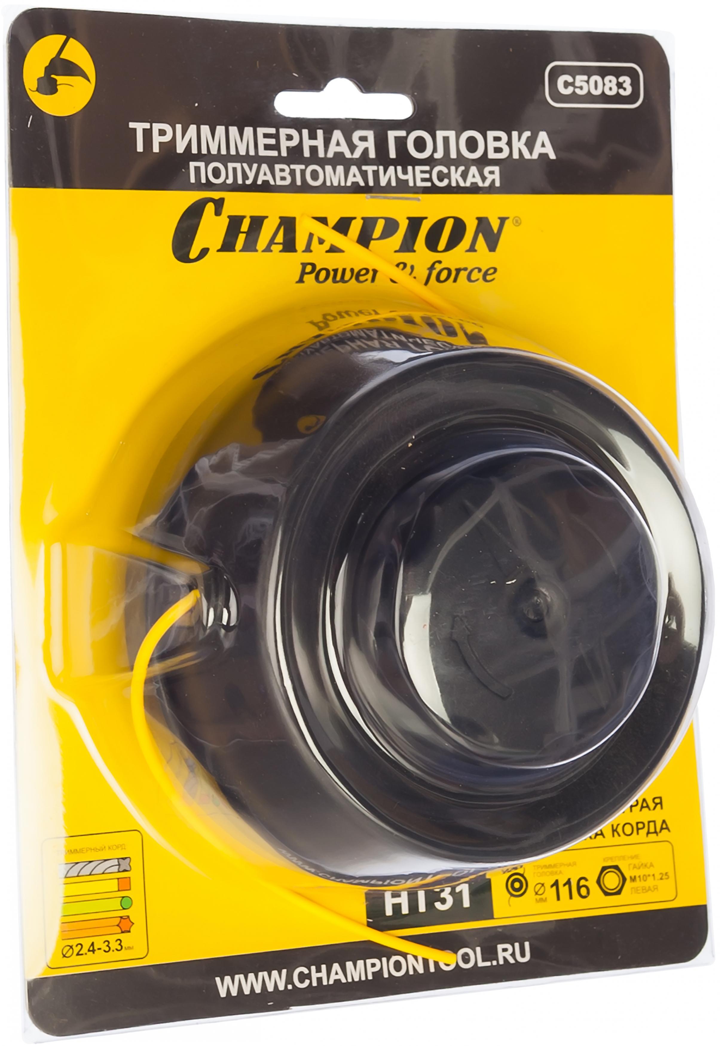 Триммерная катушка Champion C5083 триммерная катушка hammer 1101