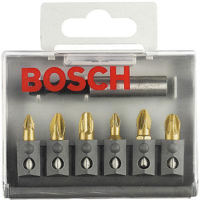 Купить Набор бит Bosch Maxgrip pz - 6шт.+держатель (2.607.001.941)