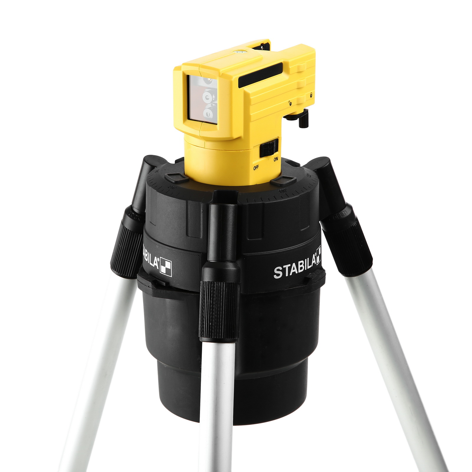 Уровень Stabila Lax 50  уровень нивелир лазерный lax 50 – штатив 10 м stabila стандарт