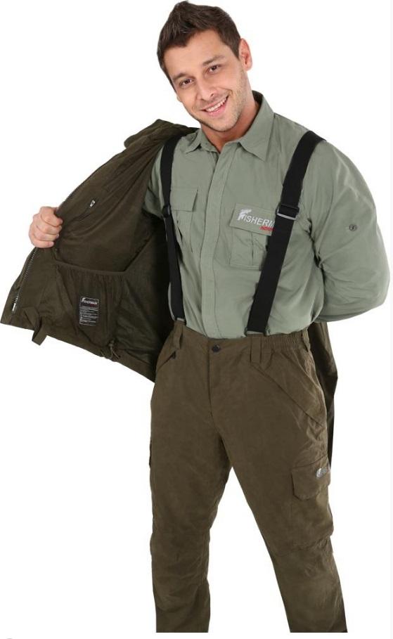 Фото 8 - Куртка рабочая мужская Fisherman nova tour Коаст