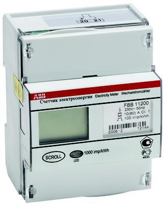 Счетчик электроэнергии Abb FbВ 11205-108