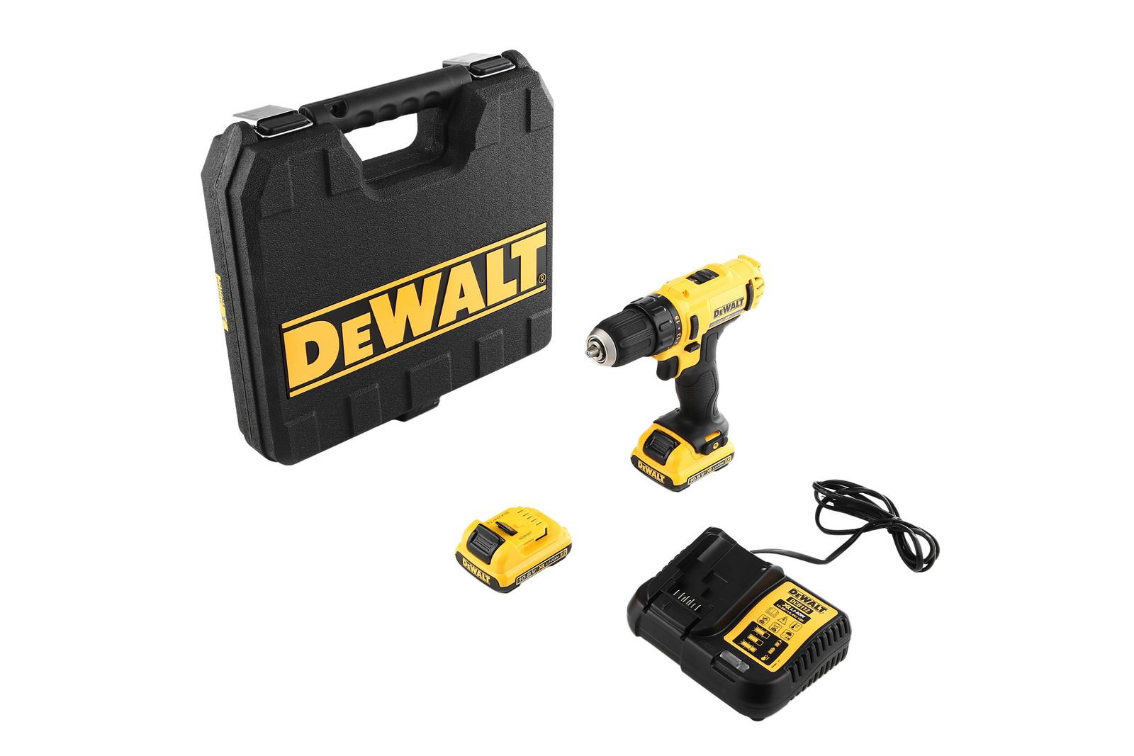 Дрель аккумуляторная Dewalt Dcd710d2