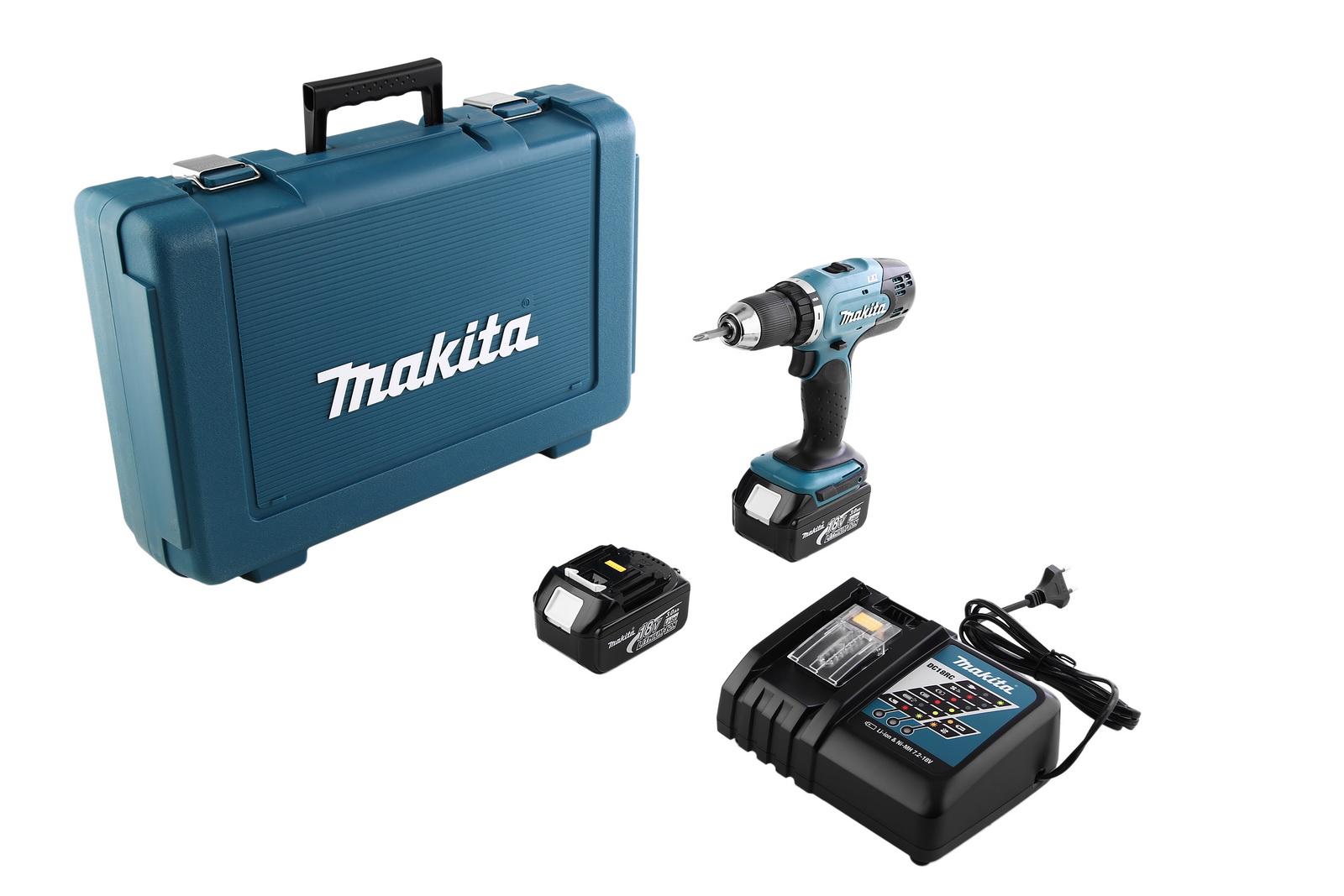Дрель аккумуляторная Makita Ddf453rfe liion